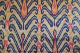 Ikat Fabric from Uzbekistan