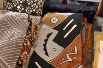 Batik cloths from Ghana