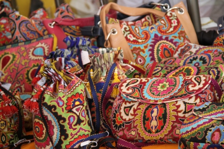 Hand embroidered bags from Uzbekistan