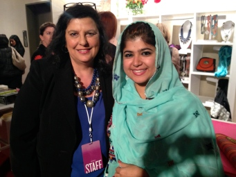 Khalida Brohi, Activist from Pakistan encouraged by our work