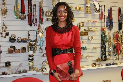 Mpule Kwelagobe, former Miss Universe, founder or MPULE Institute for Endogenous Development