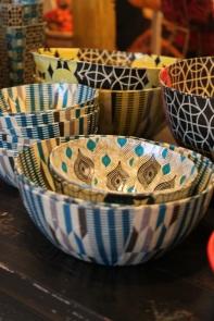 Walonani paper mach bowls