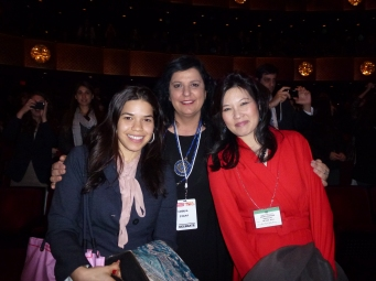 America Ferrera, Actress, Activest and Sheryl, WuDunn, Author, Pulitzer Prize Winner -WITW 2012